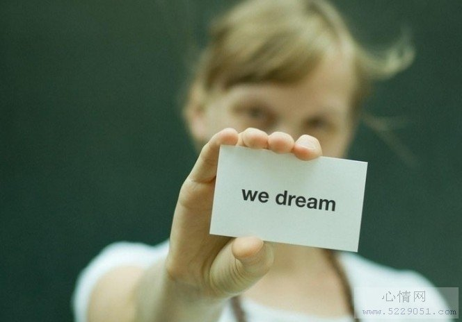 we dream